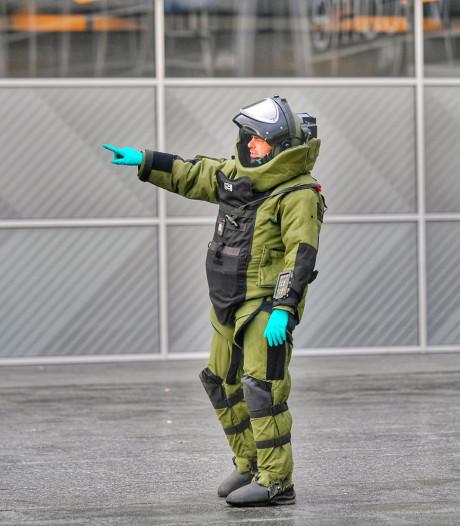 Verdacht pakketje in aankomsthal Eindhoven Airport blijkt geen explosief maar grinder