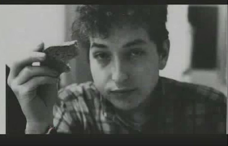 Bob Dylan in No Direction Home. Beeld