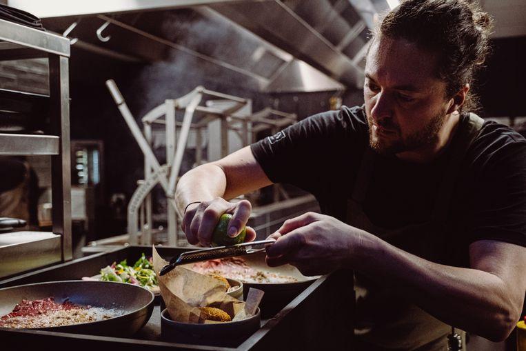 Vleessommelier en chef de viande van restaurant Maven: Jules Koninckx