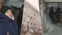 IJs aan plafond en spekgladde vloer: flatgebouw bevriest wanneer leidingen barsten