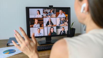 """Videobellen wint aan populariteit: """"Drie op de vier Belgen hadden videogesprekken tijdens lockdown"""""""
