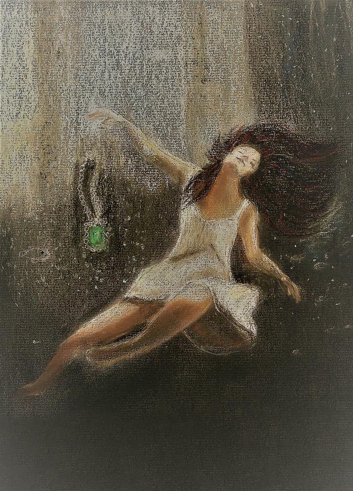 Illustratie Marga van der Bijl-Martinali in Het weeskind van Haamstede.