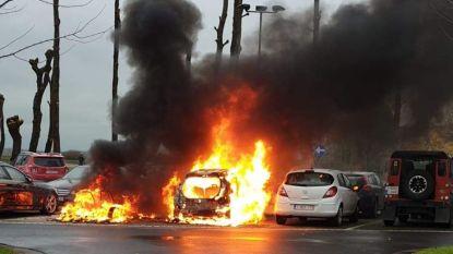 Kortsluiting oorzaak van zware autobranden