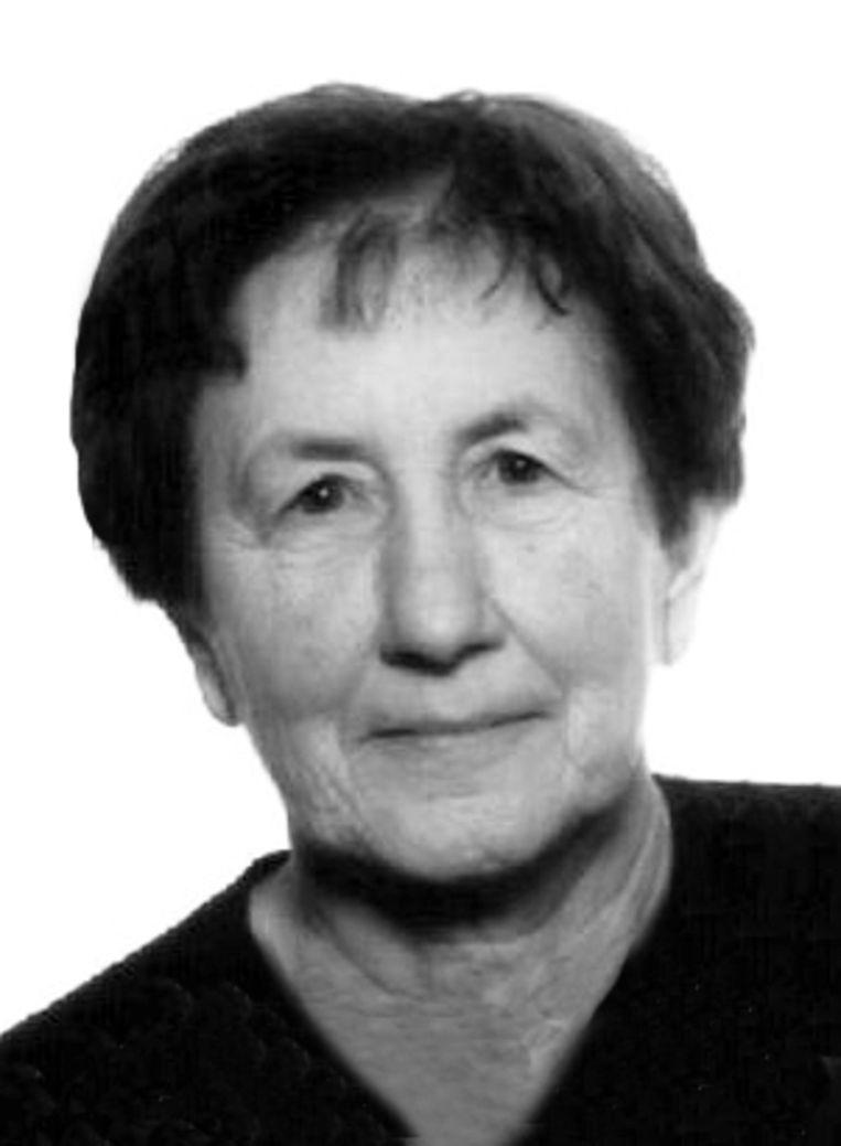 Slachtoffer Josée Widdershoven. Ze werd op 13 december 2009 doodgeschoten aan haar woning in Vucht (Maasmechelen)