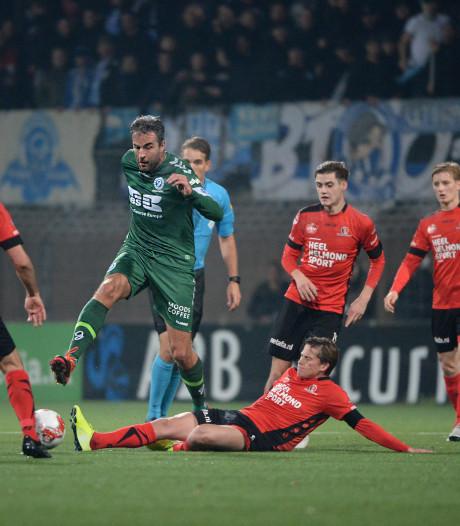 Helmond Sport krijgt in slotfase rechtse directe van De Graafschap