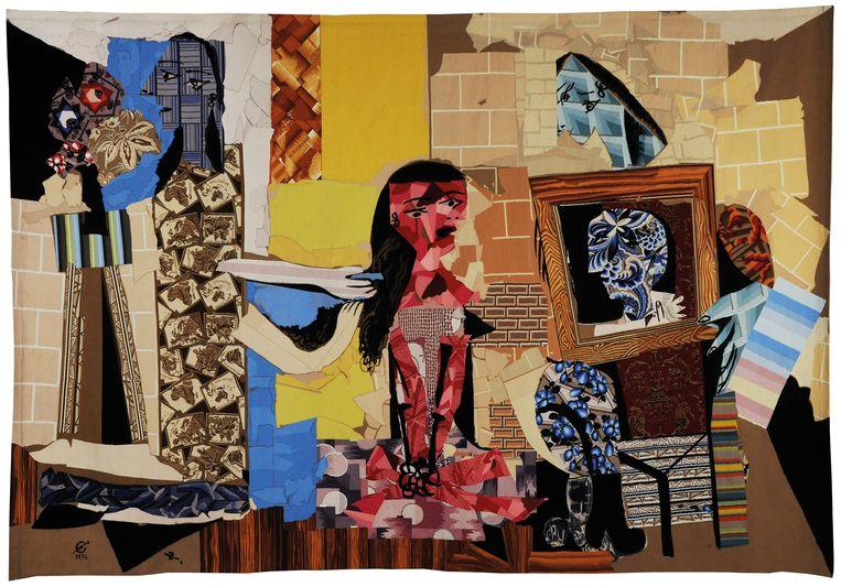 'Femmes à leur toilette' (1971-1977) van Pablo Picasso. Beeld Pictoright Amsterdam/Françoise Baussan