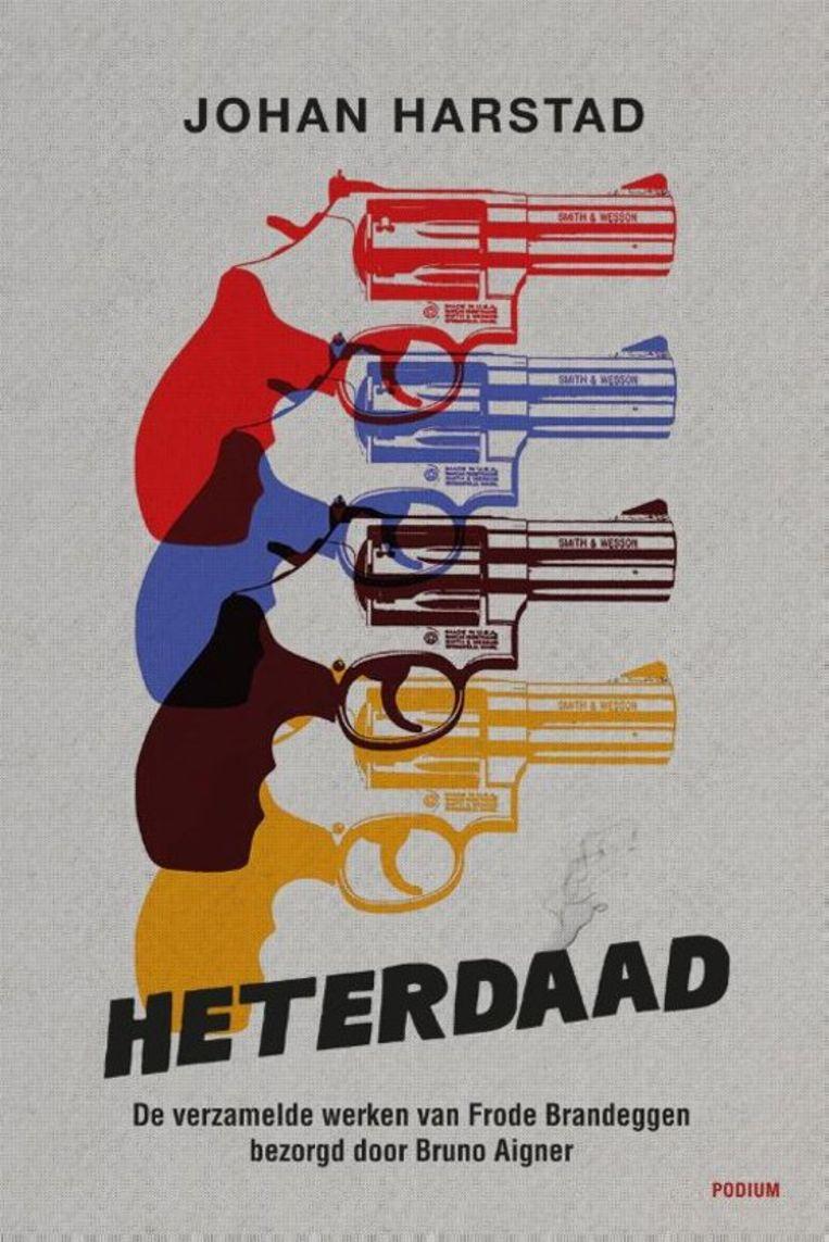 Omslag 'Heterdaad' Beeld Frank Castelein