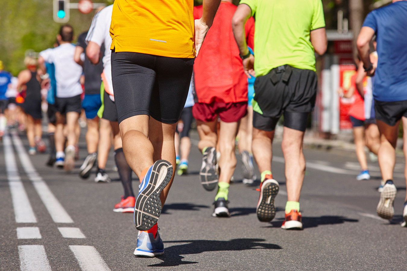 Marathonlopers hebben meer van de speciale bacterie in hun darmen dan niet-sporters.