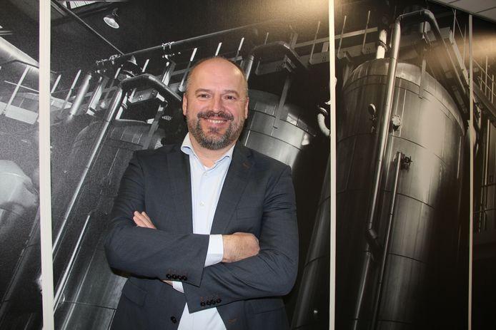 Paul Mesters, CEO van de Cosun Beet Company in Dinteloord.