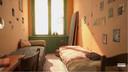 De kamer van Anne Frank in het Achterhuis.
