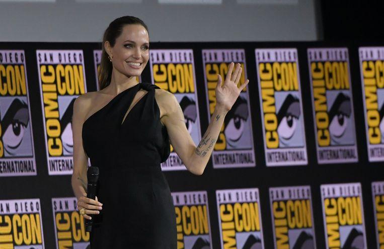 Angelina Jolie op Comic Con.