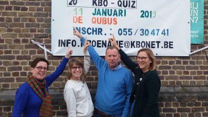 Jubileumeditie van KBO Ename quiz in Qubus  mikt op 150 teams