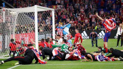 FOTO: Bittere tranen bij Marseille, dolle vreugde bij Atlético