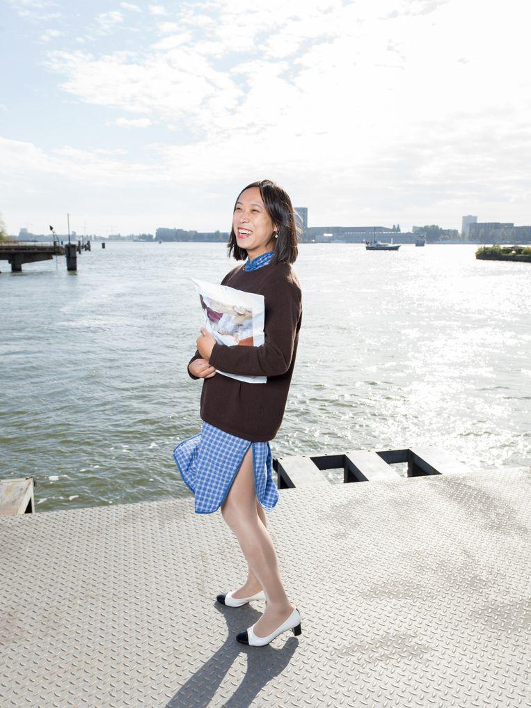 Evelyn Taocheng Wang Beeld Ivo van der Bent