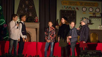 Basisschool Helibel brengt kerstmusical
