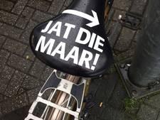 'Jat die maar' moet fietsendiefstal voorkomen