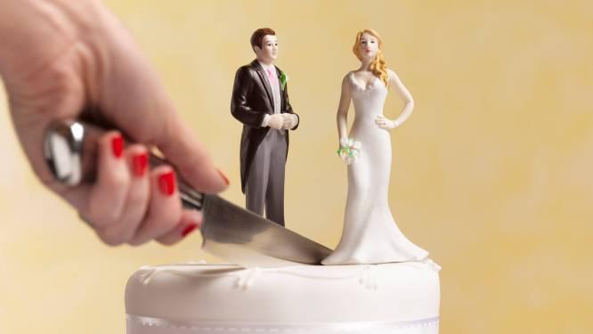 Een op drie gehuwde koppels overwoog al eens een echtscheiding volgens Belgische studie