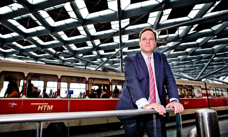 Jaap Bierman: ,,Bij elke verstoring, noodstop of onverwachte verandering moeten de passagiers direct informeren.''