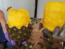 Bijna 70 kilo 'waanzinnig inventief verpakte' cocaïne ontdekt tussen ananassen