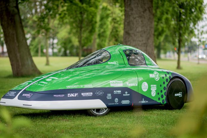 De waterstofauto van het Green Team Twente
