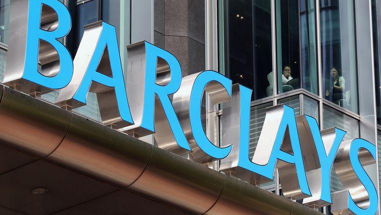 Barclays is een van de banken die betrokken zou zijn bij de fraude met de Libor-rente. Beeld getty