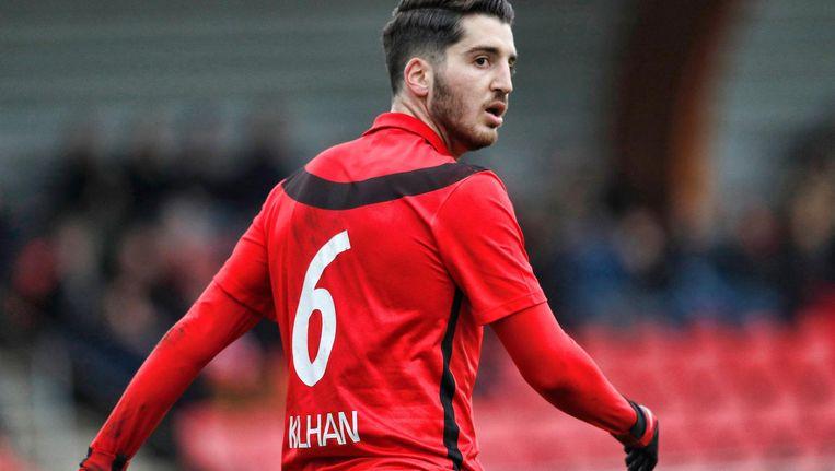 Johan Kulhan maakte zaterdag het enige doelpunt voor AFC. Beeld Pro Shots