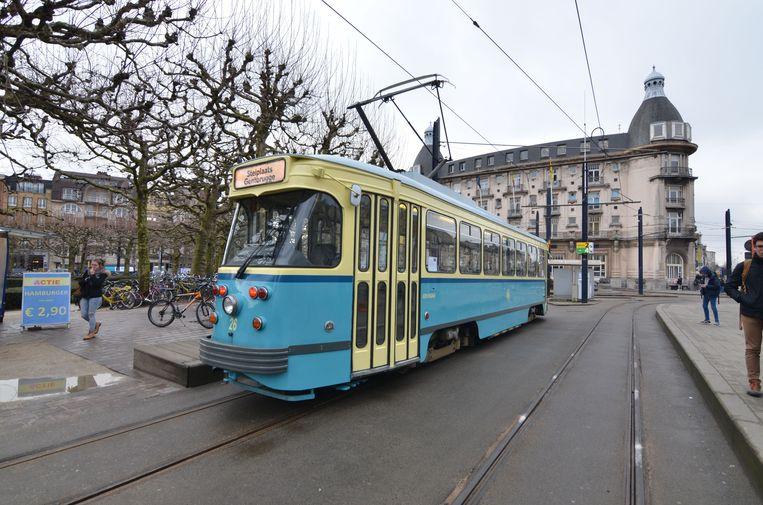 Deze trams rijden zondag nog eens door de stad