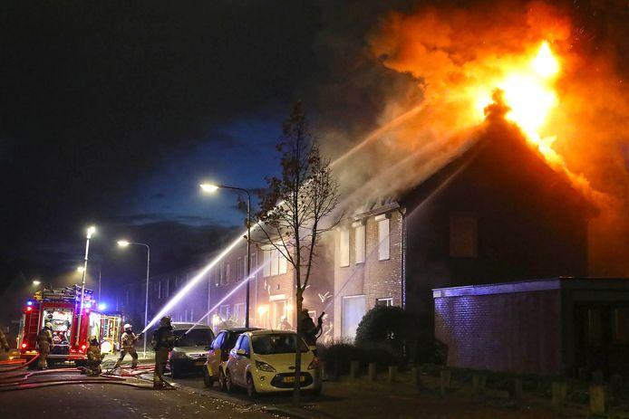 Brand in Berghem.