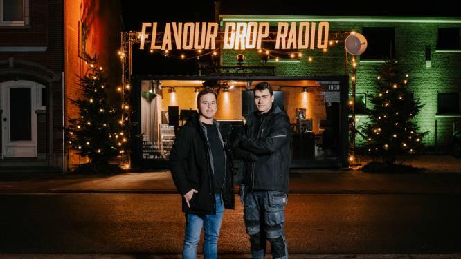 """Flavour Drop brengt oudejaarsshow vanuit omgebouwde container: """"Jeroen De Lodder en Used feesten mee"""""""