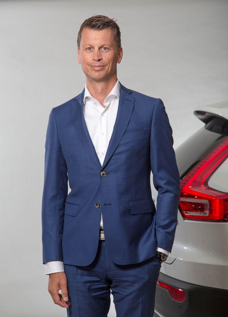 Herrik van der Gaag, algemeen directeur Volvo Car Nederland. Beeld Volvo Car Nederland