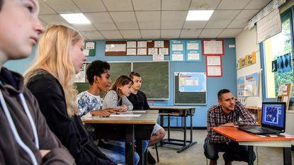 Leerlingen Unescoschool skypen met leerlingen in Gazastrook en Syrië