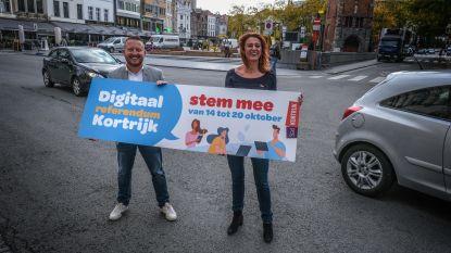 Elke maand een autovrije zondag in Kortrijk? Campagne rond digitaal referendum start