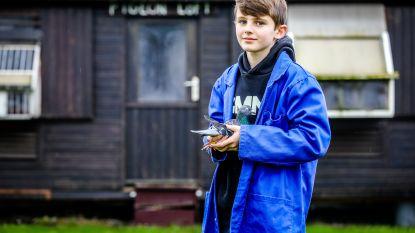"""Arthur (11) is één van de jongste duivenmelkers van het land: """"Contact met mijn vrienden heb ik niet via Facebook, maar per brief"""""""