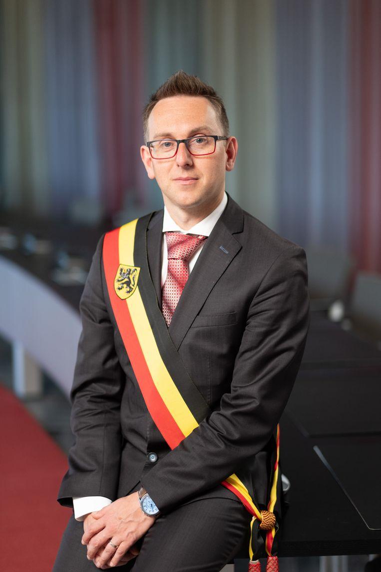 Burgemeester Kristof Sels