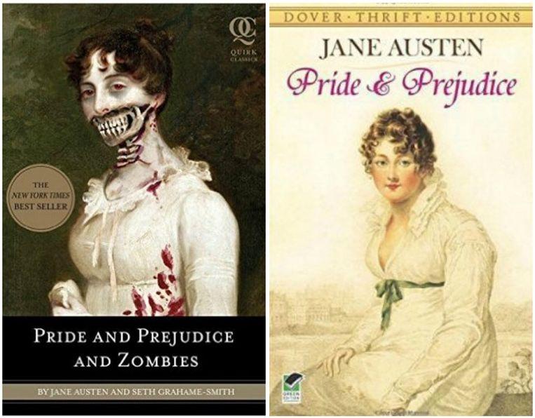 'Pride And Prejudice' kreeg een vreemde herwerking met zombies.