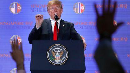 """Trump kondigt einde militaire oefeningen tegen Noord-Korea aan: """"Iedereen kan oorlog voeren, enkel de meest moedigen kunnen vrede sluiten"""""""