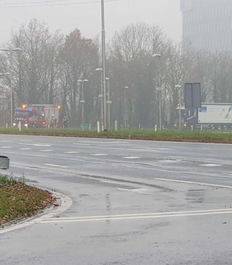 Afslag A1 bij Plein Westermaat korte tijd afgesloten
