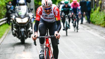 """""""Koers op honderd kilometer van finish verloren"""""""