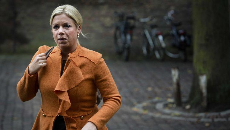 Minister Jeanine Hennis-Plasschaert van Defensie Beeld ANP