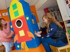 De handen uit de mouwen: Kelly in de astronautenklas van juf Sylvia
