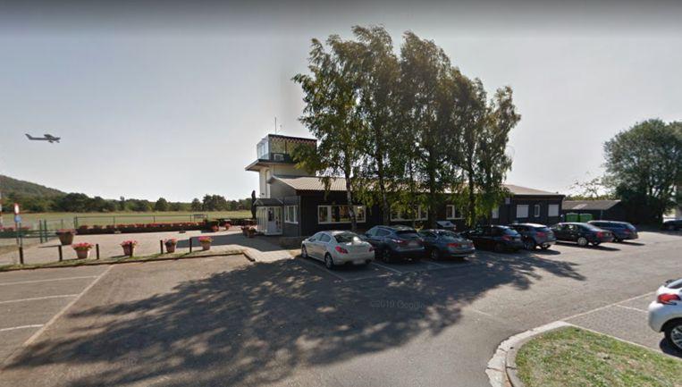De overval gebeurde aan de cafetaria aan het Vliegplein.