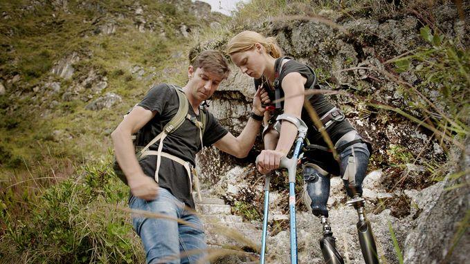 Hannelore wil Machu Picchu op met twee prothesen