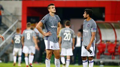 Start in mineur: inspiratieloos Anderlecht gaat de boot in bij Spartak Trnava, storm(pje) raast verder