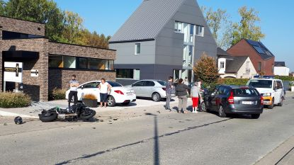 Motorrijder zwaargewond bij ongeval op Klein Zottegem
