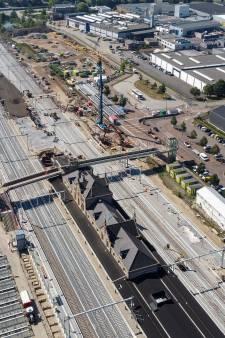De laatste hete loodjes op het station van Geldermalsen