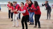 Flashmob verrast heel wat vakantiegangers