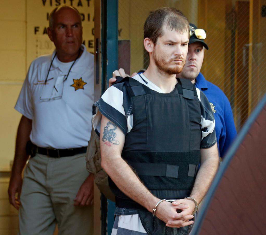 Timothy Jones, lors de son arrestation, en 2014.