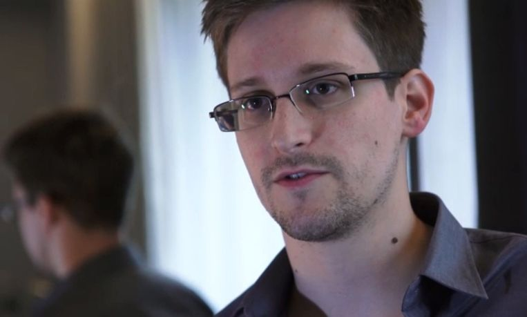 Snowden Beeld afp
