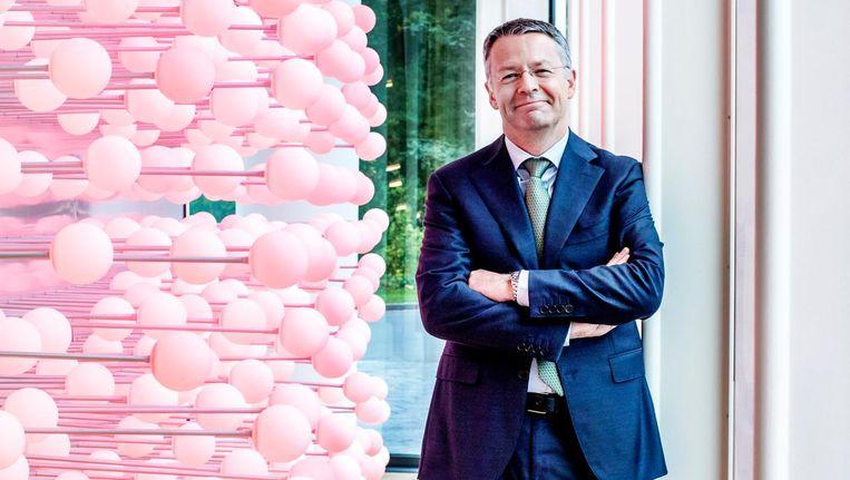 Thierry Vanlancker, de nieuwe AkzoNobel-baas. Beeld Raymond Rutting / de Volkskrant