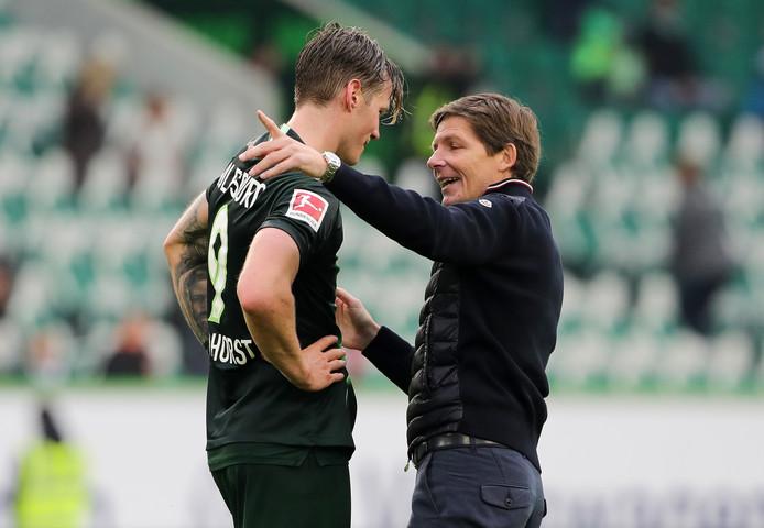 Met Oliver Glasner aan het roer staat VfL Wolfsburg op de tweede plaats in de Bundesliga.